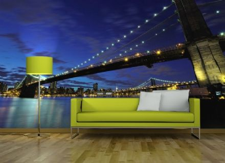 Brooklyn Bridge New York wallpaper murals